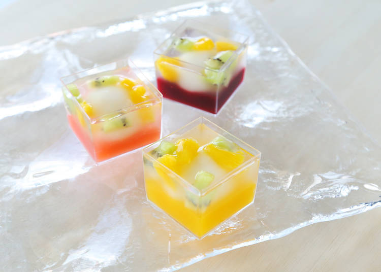 ● Fruit Dango at Rokube (Ecute): a Fruity Delight Only Available at Tokyo Station!