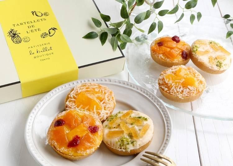 ● Tartellets de l'Été (Box of 6) at Le Billet (Ecute): a New Fruit Experience Limited to Tokyo Station!