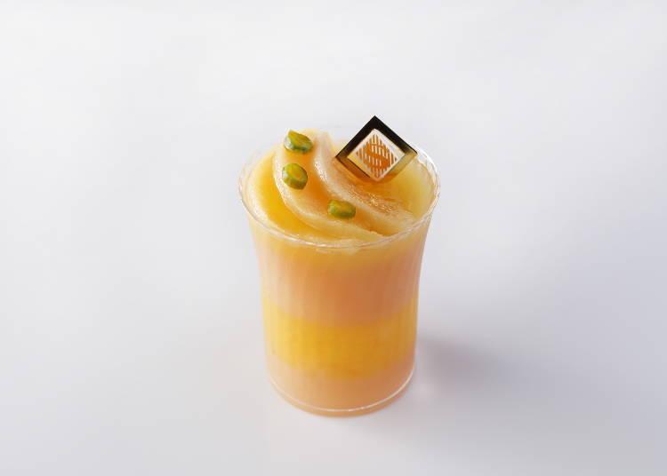 ● Gelée Pêches at Shiseido Parlour (Ecute): Rich Peach Flavor, Limited to Tokyo Station!
