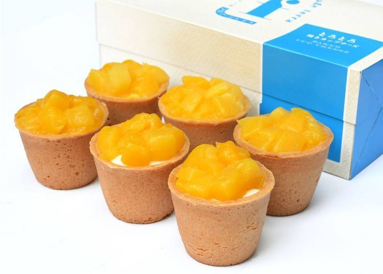 ● Torotoro Yaki-Cup Cheese Mango at Fromage Terra (Ecute): an All-New and Limited Cheese Pastry Delight!