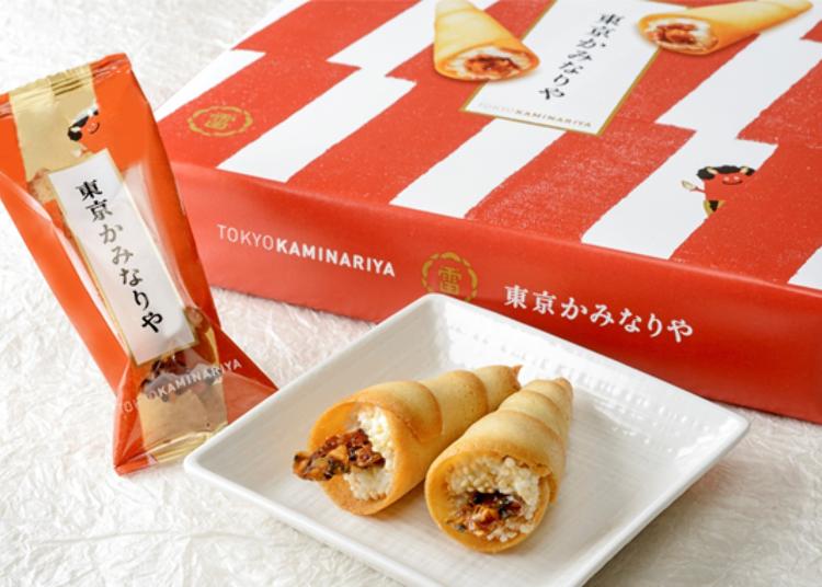 ● Tokyo Kaminariya (8 in a Box) at Tokyo Kaminariya (Ecute): Adorable and Delicious!