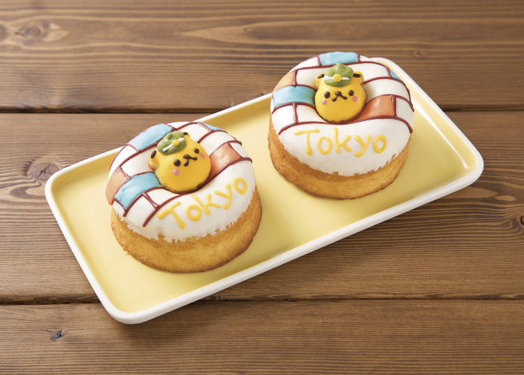 ● TOKYO☆Summer Station Building at Siretoco Donuts (Ecute): the Cutest Donuts of Tokyo Station!