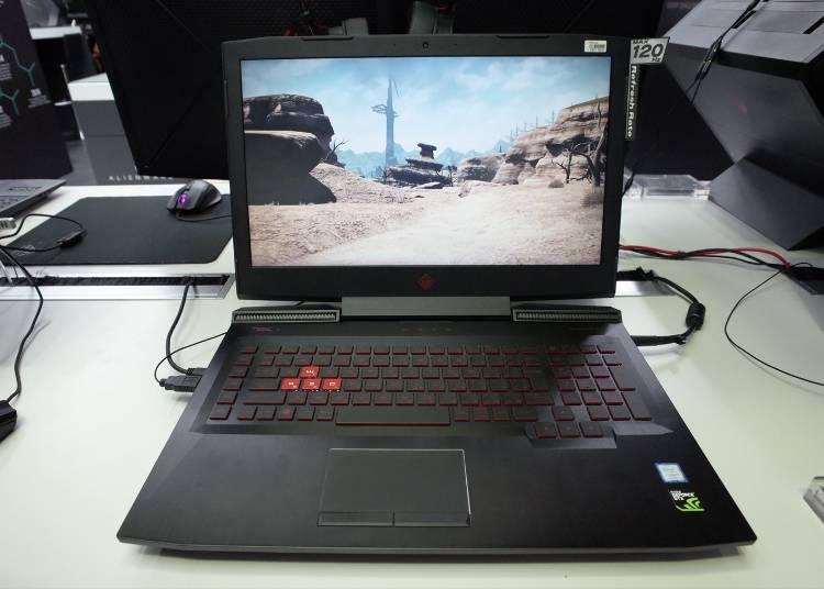 Popular Gaming PCs #9: Omen by HP 17-an011TX (192,800 yen)