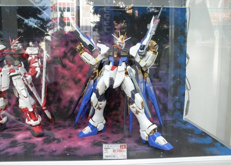 Popular Models & Figurines #2: 1/60 ZGMF-X20A Strike Freedom Gundam (18,980 yen)