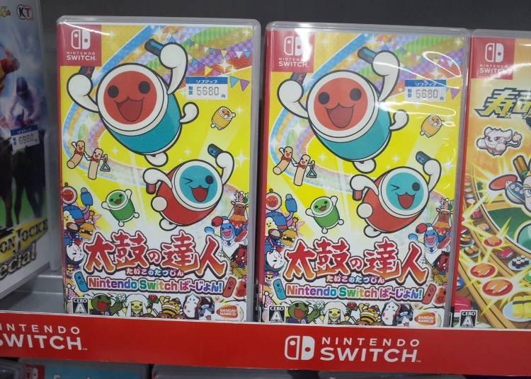"Popular Games #7: Nintendo Switch ""Taiko no Tatsujin Nintendo Switch Version"" (5,680 yen)"