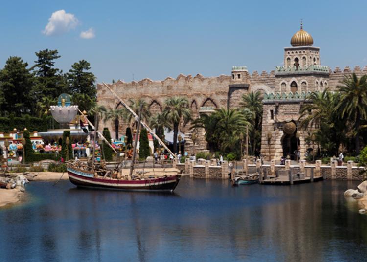 Tokyo DisneySea's Secret Spots – No Long Queues! 3. Sindbad's Storybook Voyage: Depart on an Adventure!