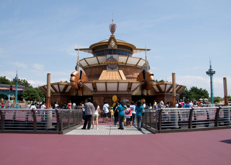 Tokyo DisneySea's Secret Spots – No Long Queues! 5. Aquatopia: Fun, Unpredictable, and Plenty of Water!