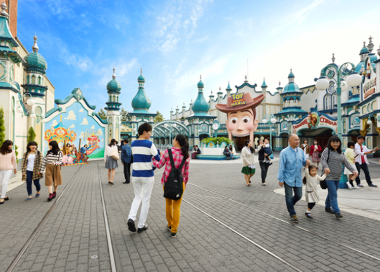 Tokyo DisneySea's Most Popular Rides! 1. Toy Story Mania! – The Exciting Shooting Game (Fastpass Available)