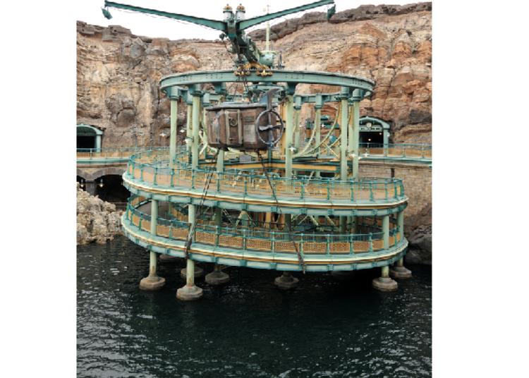 Tokyo DisneySea's Secret Spots – No Long Queues! 4. 20,000 Leagues Under the Sea: Jule Verne's Ocean, Beautifully Reproduced! (Fastpass Available)