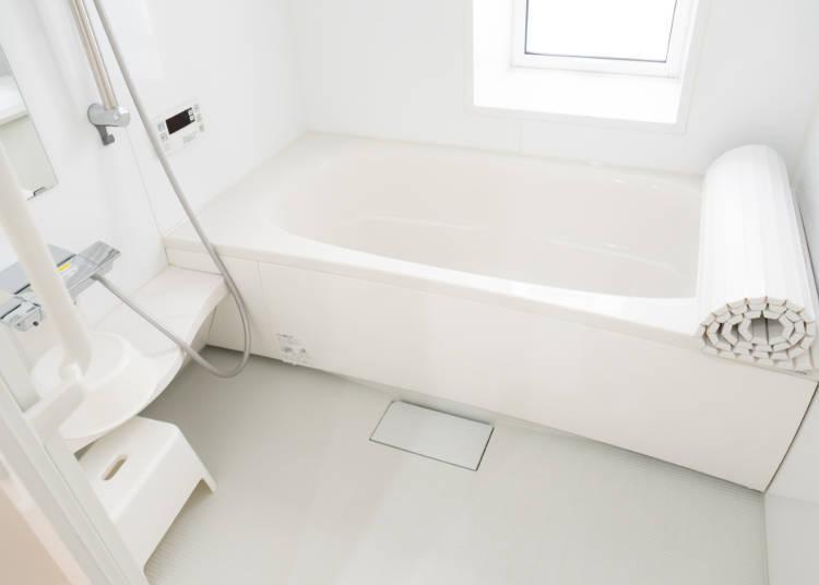 ■She takes so many baths!