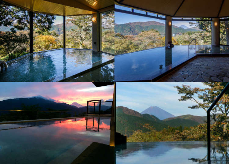 Japanese Hot Spring Experience: Visit Ryuguden and Soak Your Body in Front of Mount Fuji!
