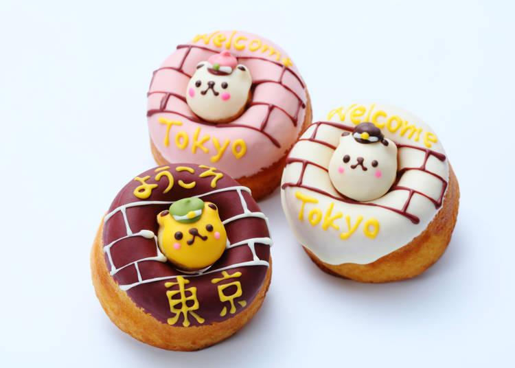 【第六名】戀愛ING☆TOKYO小熊甜甜圈(Siretoco Factory/京葉STREET)含稅950日圓