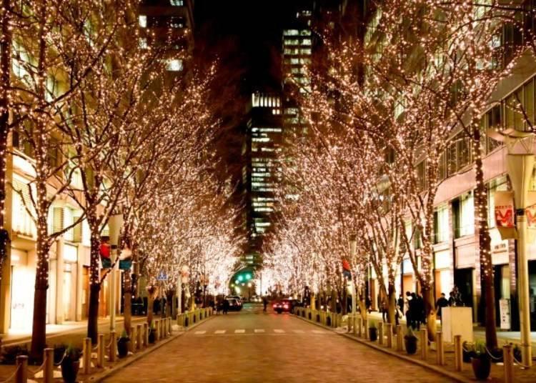 Marunouchi 2018: Tokyo's traditional holiday lights