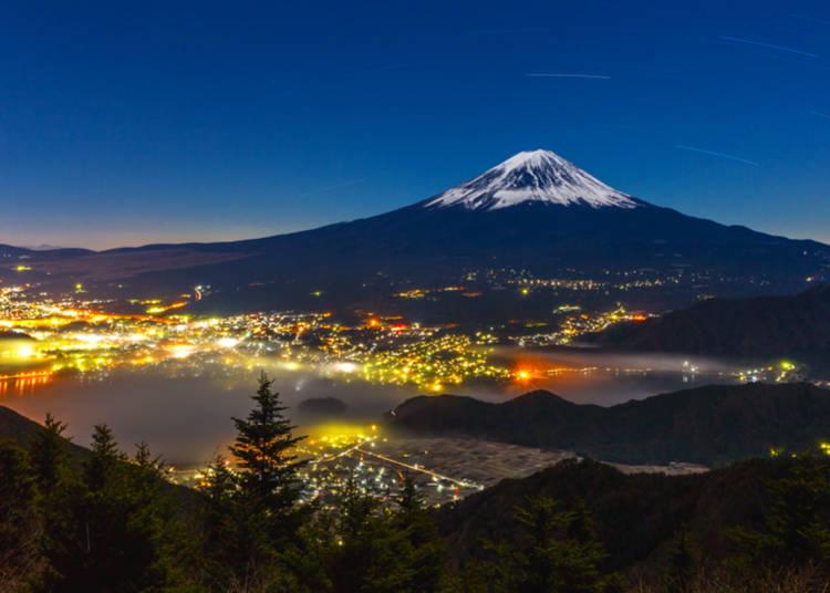 Seeing Mt. Fuji: The Kawaguchiko Area