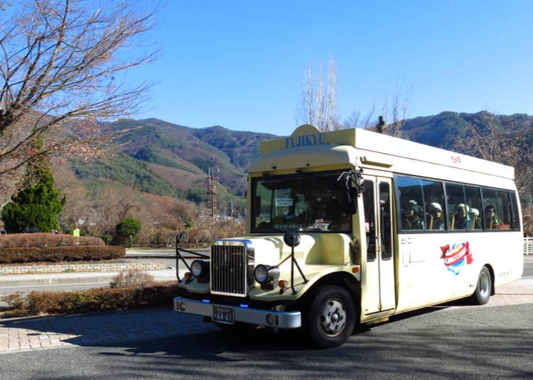 Seeing Mt. Fuji: Loop Buses around Lake Kawaguchi