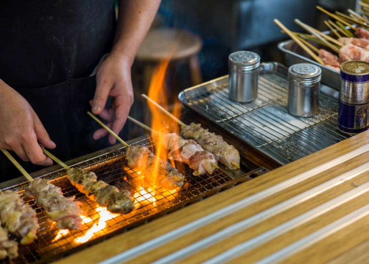 2. Go fried or grilled: Tempura and Yakitori