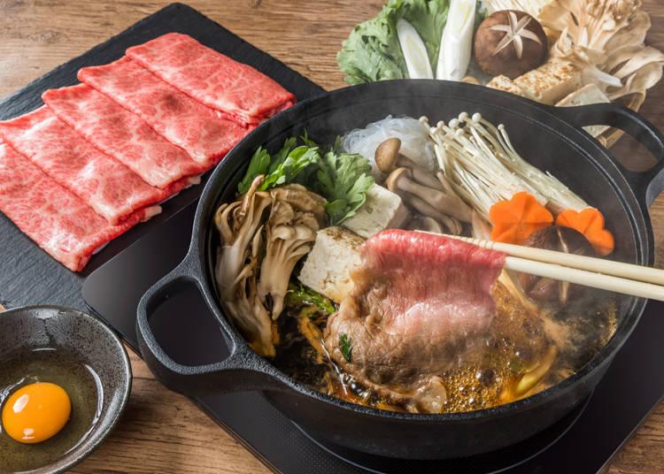4. Seeking something different? Sukiyaki!
