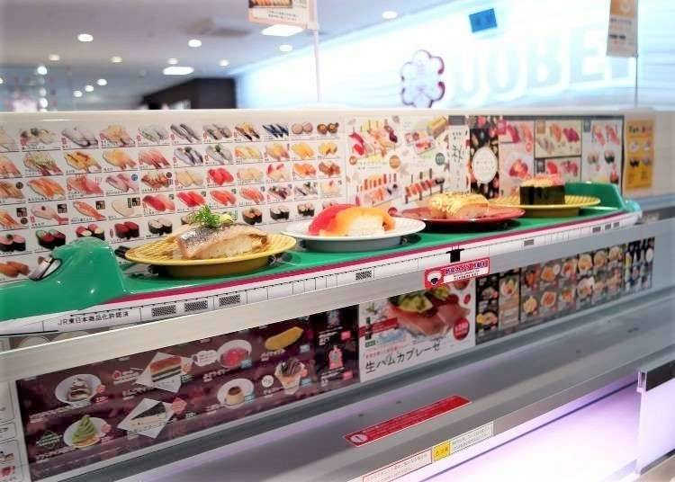 5. Food entertainment? Sushi!