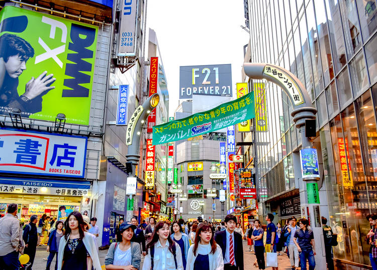 1. Shibuya: A sure bet, especially with teens