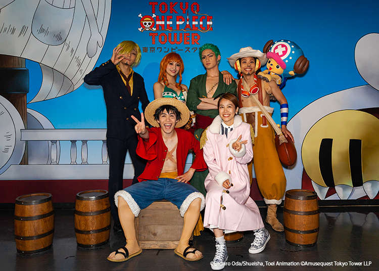 Get Photogenic at Tokyo One Piece Tower's Halloween Event!