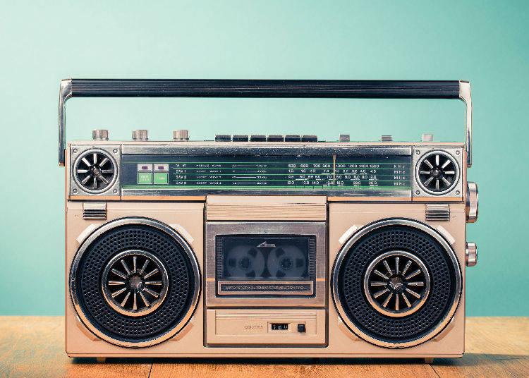 """Raji kase"" (ラジカセ) - Radio Cassette Player"
