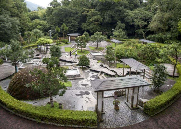 關東最古老溫泉!在湯河原萬葉公園「獨步之湯」享受九種足湯的療癒之旅