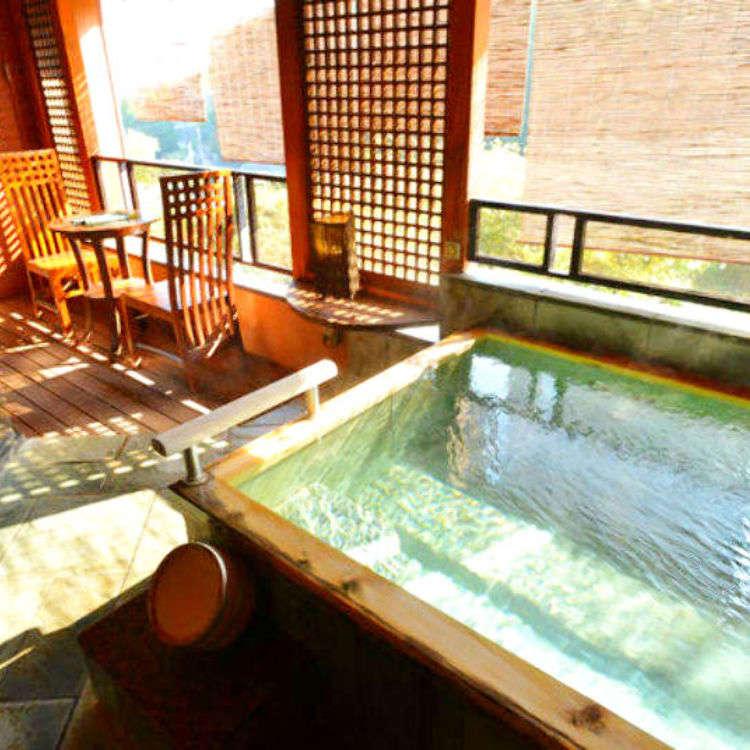 【關東自由行】在湯河原溫泉街的隱密日式旅館中 優雅靜享慢活時光