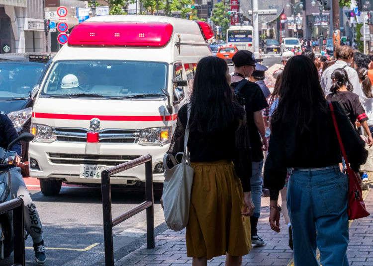 在日本旅遊時不小心受傷生病、想看醫生怎麼辦?遇上緊急狀況時的實用應變方法