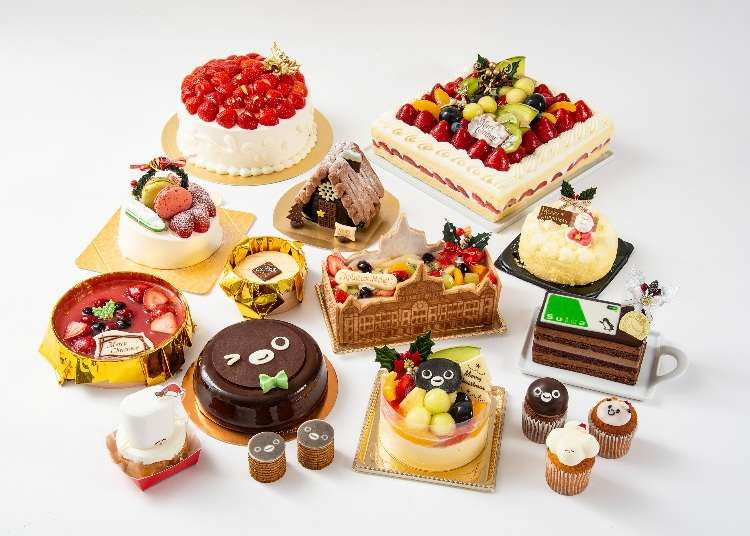 Tokyo's Gorgeous Christmas Cakes of 2018, Fresh from Gransta at Tokyo Station!