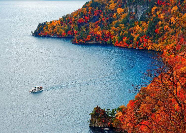 Lake Towada in Aomori and Akita Prefecture