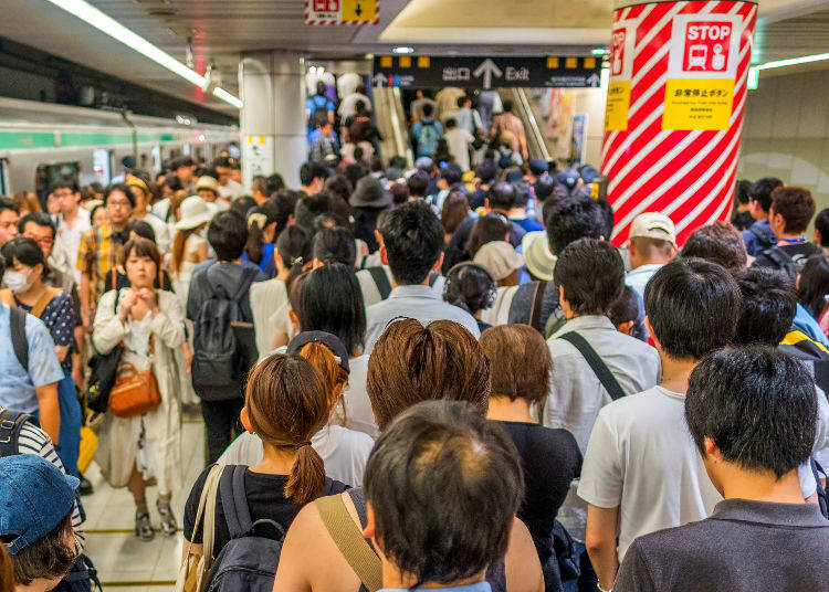 2. Tokyo Seen by Countrysiders: Every Station is a Maze