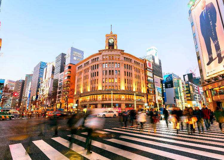 "Ginza: ""a Sophisticated City for Adults"""