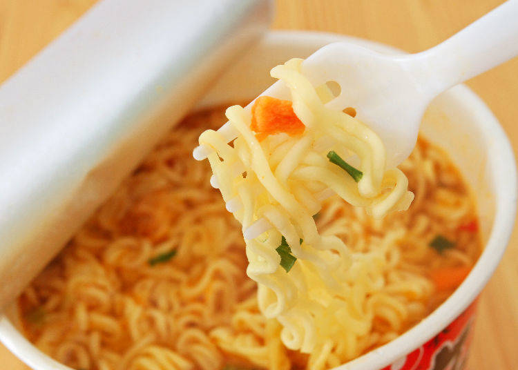Instant Ramen: Quickly Made and Super Delicious!