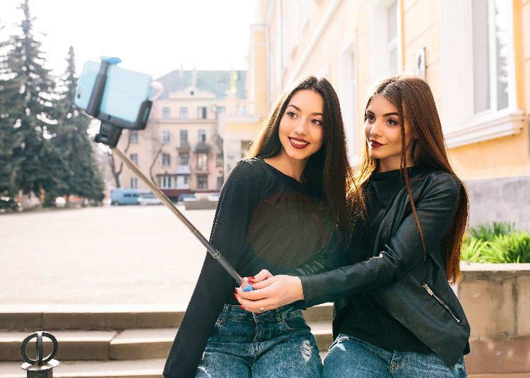 The Selfie Stick: Seen at Tourist Destinations all around the World!