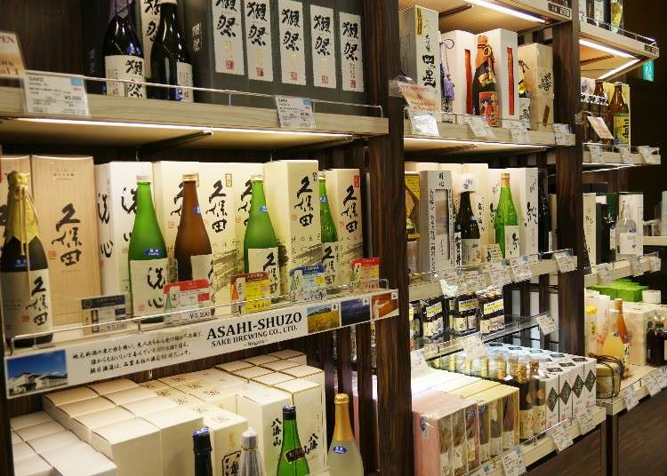 帶回台灣的伴手禮挑什麼?參考成田機場免稅店暢銷商品就對啦(日本酒篇)