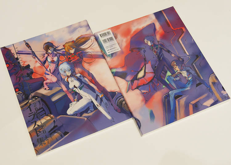 3) EVANGELION Illustrations 2007 – 2017: The Must-Have, Brand-New Artbook!