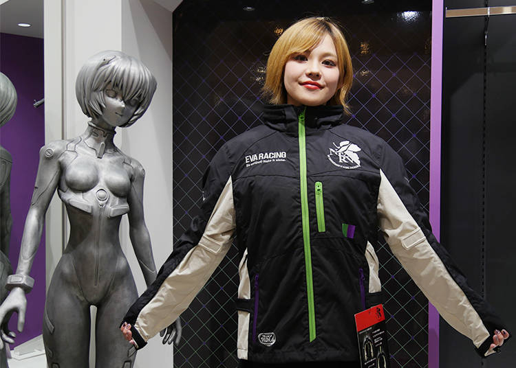 8) EVANGELION Racing Jacket: Take EVANGELION to the Streets!