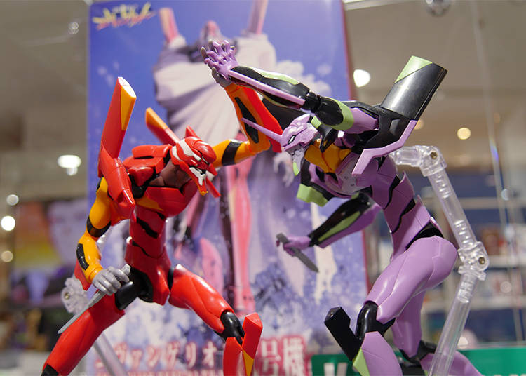 9) EVANGELION Figurines and Plamodels: Bring the Struggle to Your Living Room!
