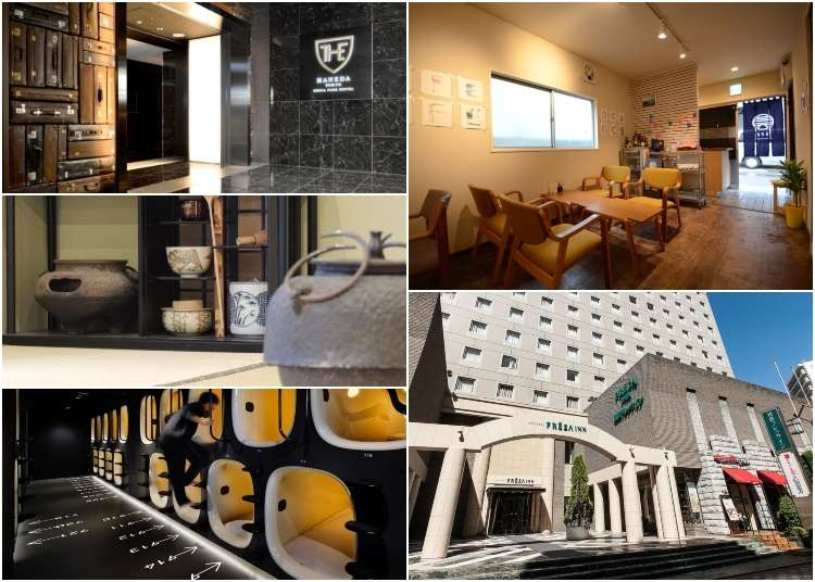 Accommodations for Every Budget: 5 Hotels Close to Tokyo's Haneda Airport