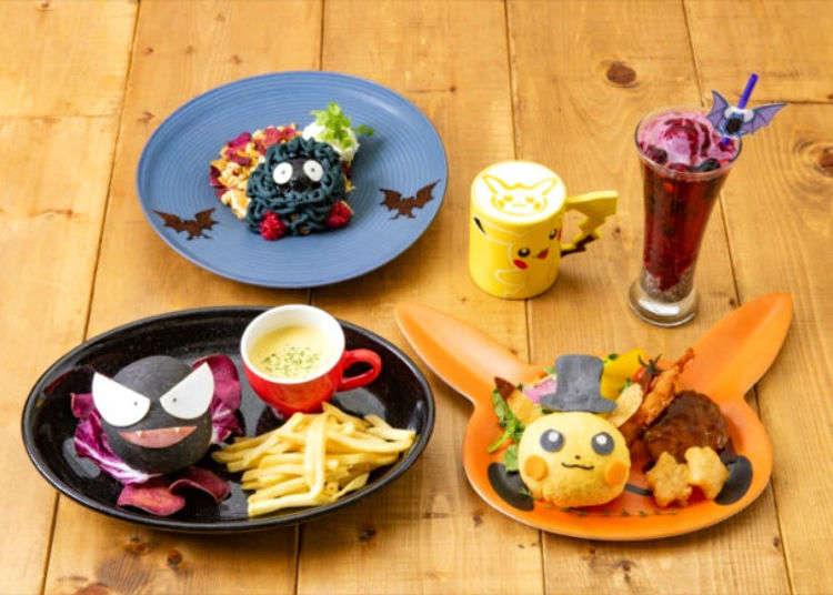 Japan's Pokémon Café Serving Up Fun & Festive Dishes For Halloween!