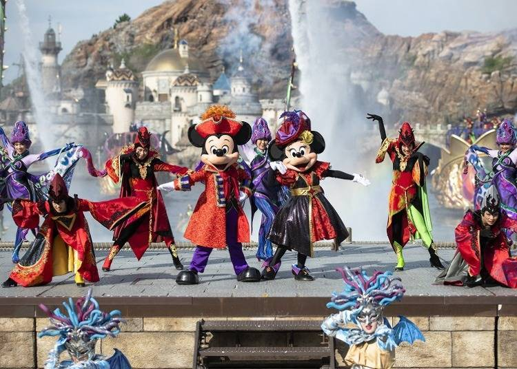 """Tokyo DisneySea Goes Gorgeous and Mysterious! """"The Villains' World"""" Excites Us This Year as Well!"""