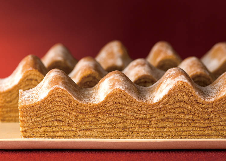 <ねんりん家>秋色の山並みに栗のうまみたっぷり『マウントバーム モンブラン』