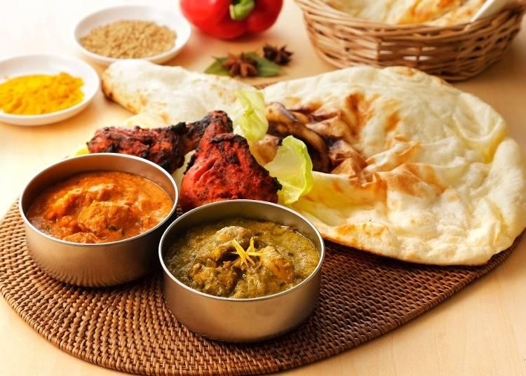3. 日本のインド料理がやけに美味しい!