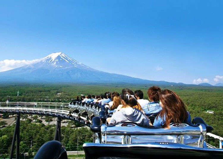 Fuji-Q Highland: Explore Japan's Most Exciting Amusement Park at Japan's Highest Mountain, Now Free to Enter!