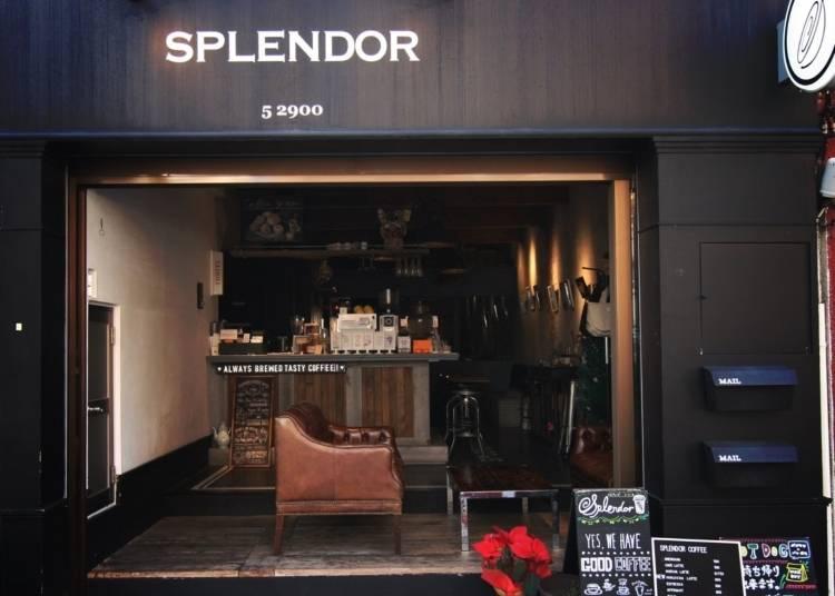 1. Splendor Café (Working)
