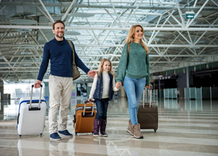 2. Getting to Tokyo with kids: from Narita Airport