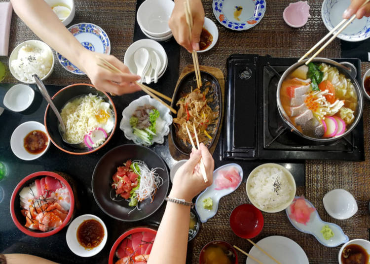 4. Where to eat in Japan with kids