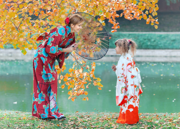 7. Visiting the sights with kids in Japan