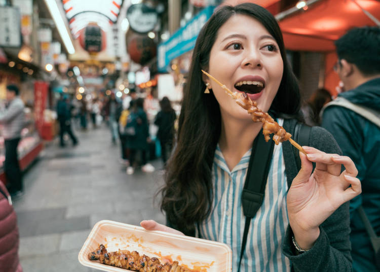 1. Is it ok to eat while walking in Japan?