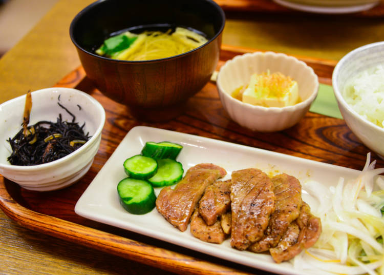 3. Are there non-fish meals in Japan?